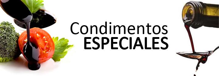 Condimentos especiales